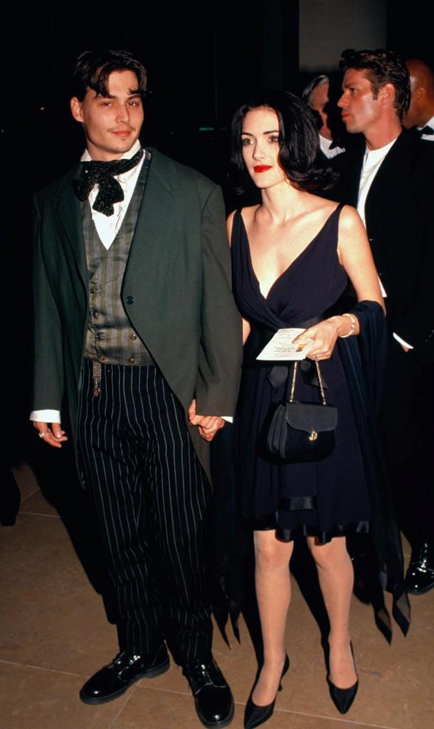 Johnny Depp even got Winona's name